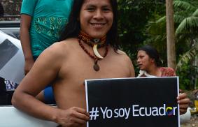 Ecuador: operaciones post terremoto