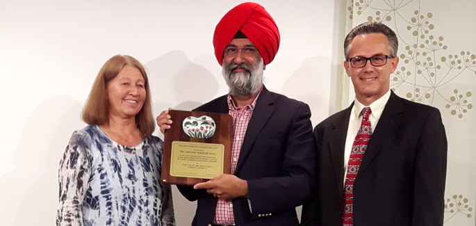 USA: Premio Luminosa 2016 a leader Sikh