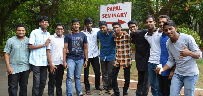 170 Seminarians at a Workshop in India