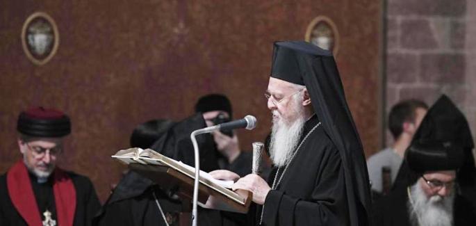 Bari empfängt Patriarch Bartholomäus I.