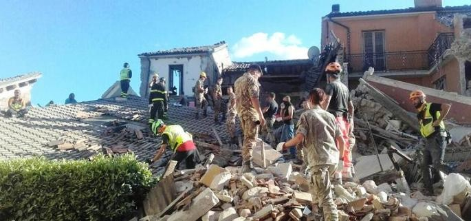 Christmas With Earthquake Victims in Central Italy