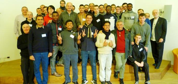 Seminarians in Loppiano