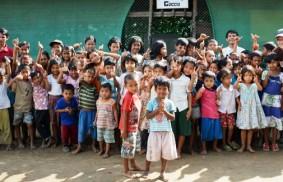 Drei Tage  bei den Kindern von Mae Sot