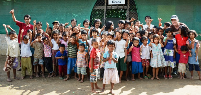 Thailand: three days with the Mae Sot children