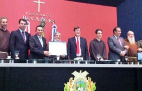 Brasilien: Ein Kapuzinerbruder wird zum Ehrenbürger ernannt