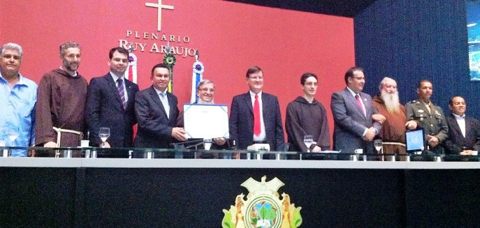 Brazil: a Franciscan, honorary citizen