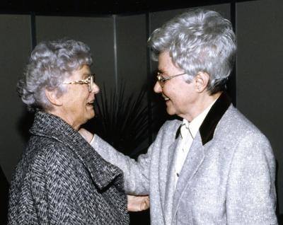 Luigina Nicolodi e Chiara 1995