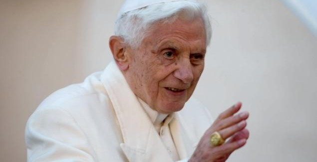 Happy birthday, Pope Benedict!