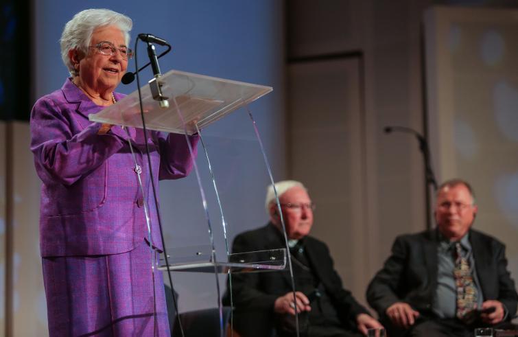 """Focolari: Maria Voce, """"l'ecumenismo serve alla pace perché la pace è unità dei cuori"""""""