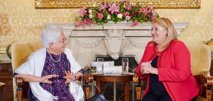 Maria Voce's visit to Malta