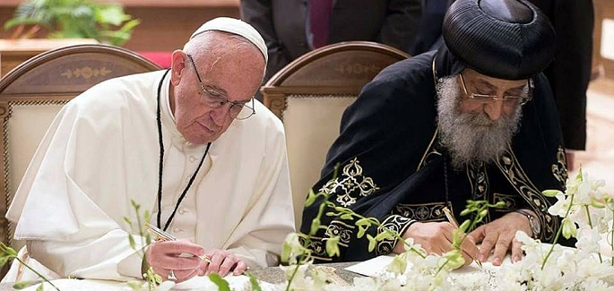Pope Francis in Egypt. New Paths of Peace Open