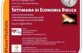 Loppiano -Settimana di Economia Biblica 2017