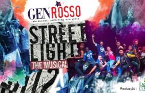 Lumières allumées dans la rue