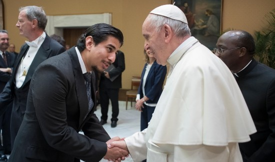 Pope Francis to the Gen: Adelante!