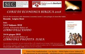 Corsi di Economia Biblica 2018