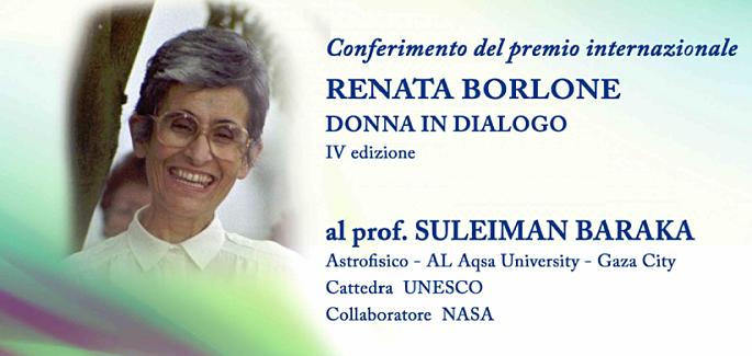 """Premio """"Renata Borlone, donna in dialogo"""""""