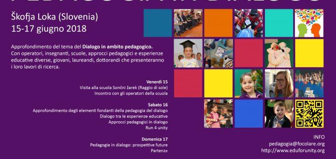 "Škofja Loka- Slovenia-""Pedagogia in Dialogo"": ricerca, pratiche e prospettive"""