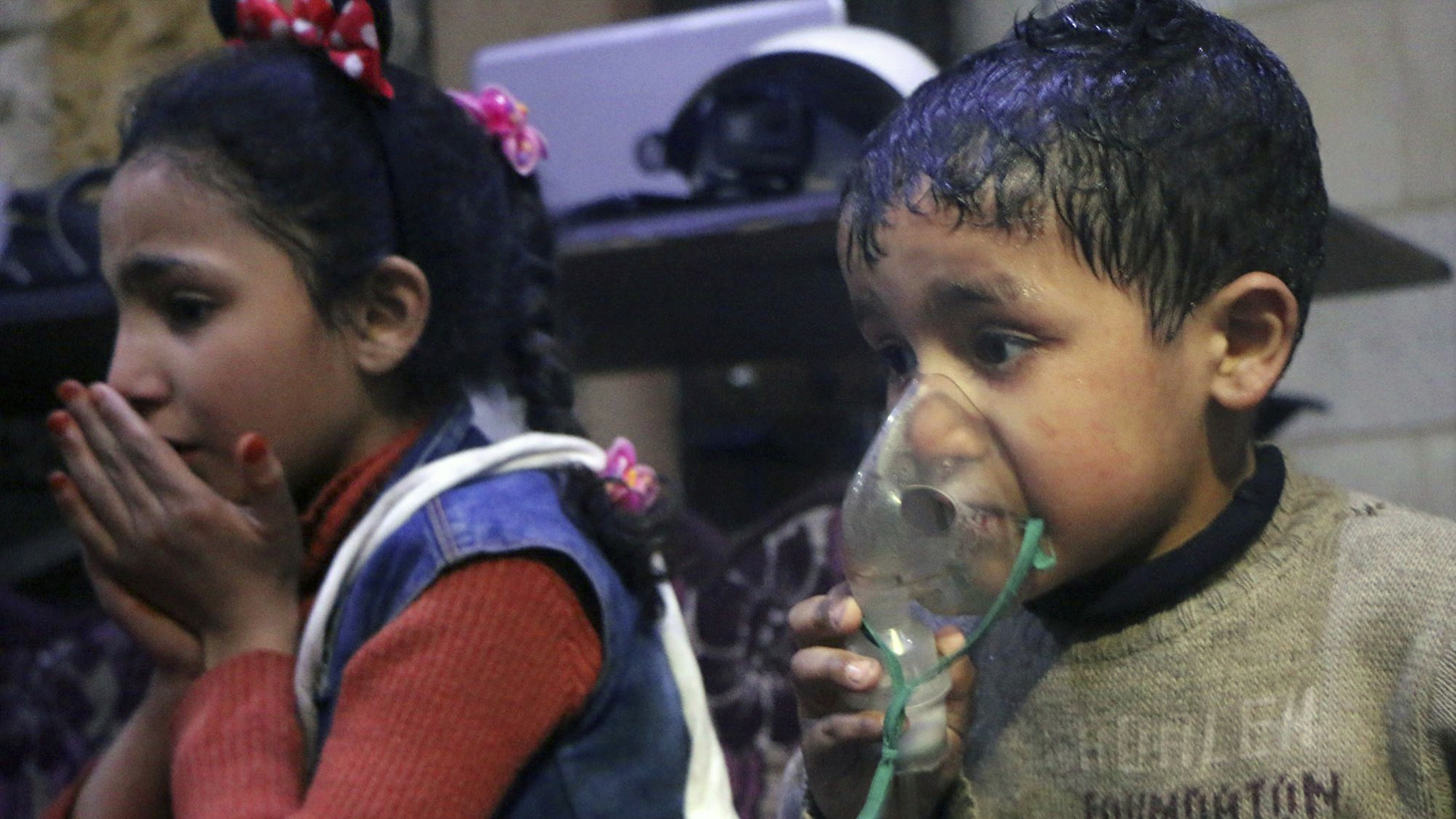 Image result for Khan Shaykhun chemical attack