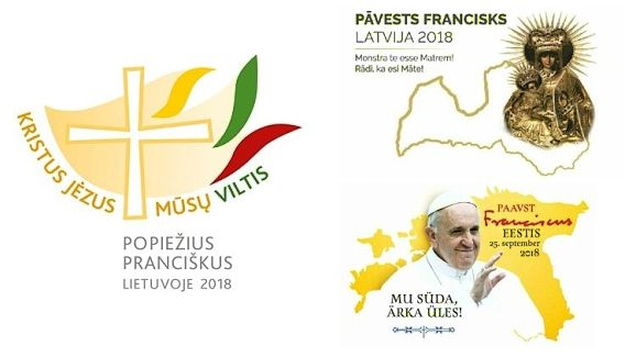 Pope Francis in the Baltic States