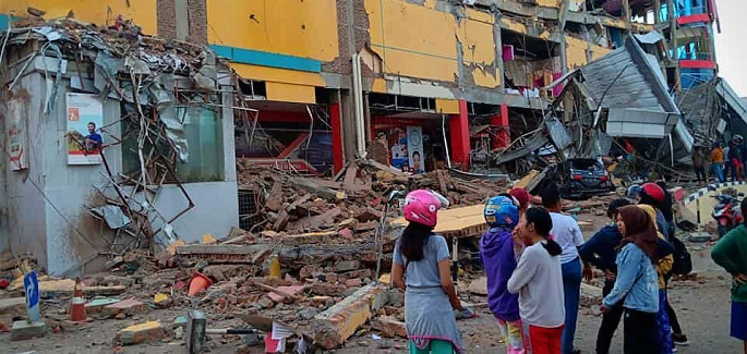 Tsunami and Earthquake in Indonesia