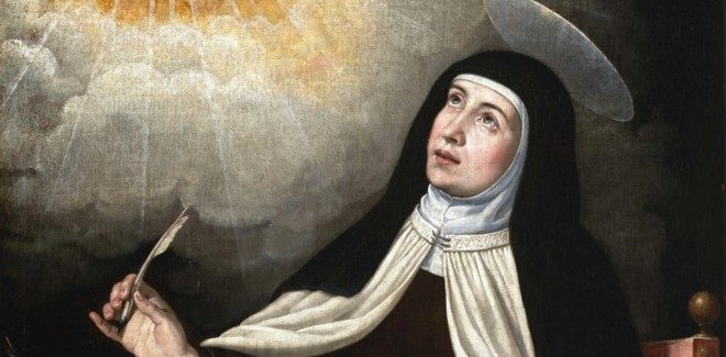 St Teresa, woman of strength