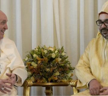 papa francesco marocco 2019 lapresse