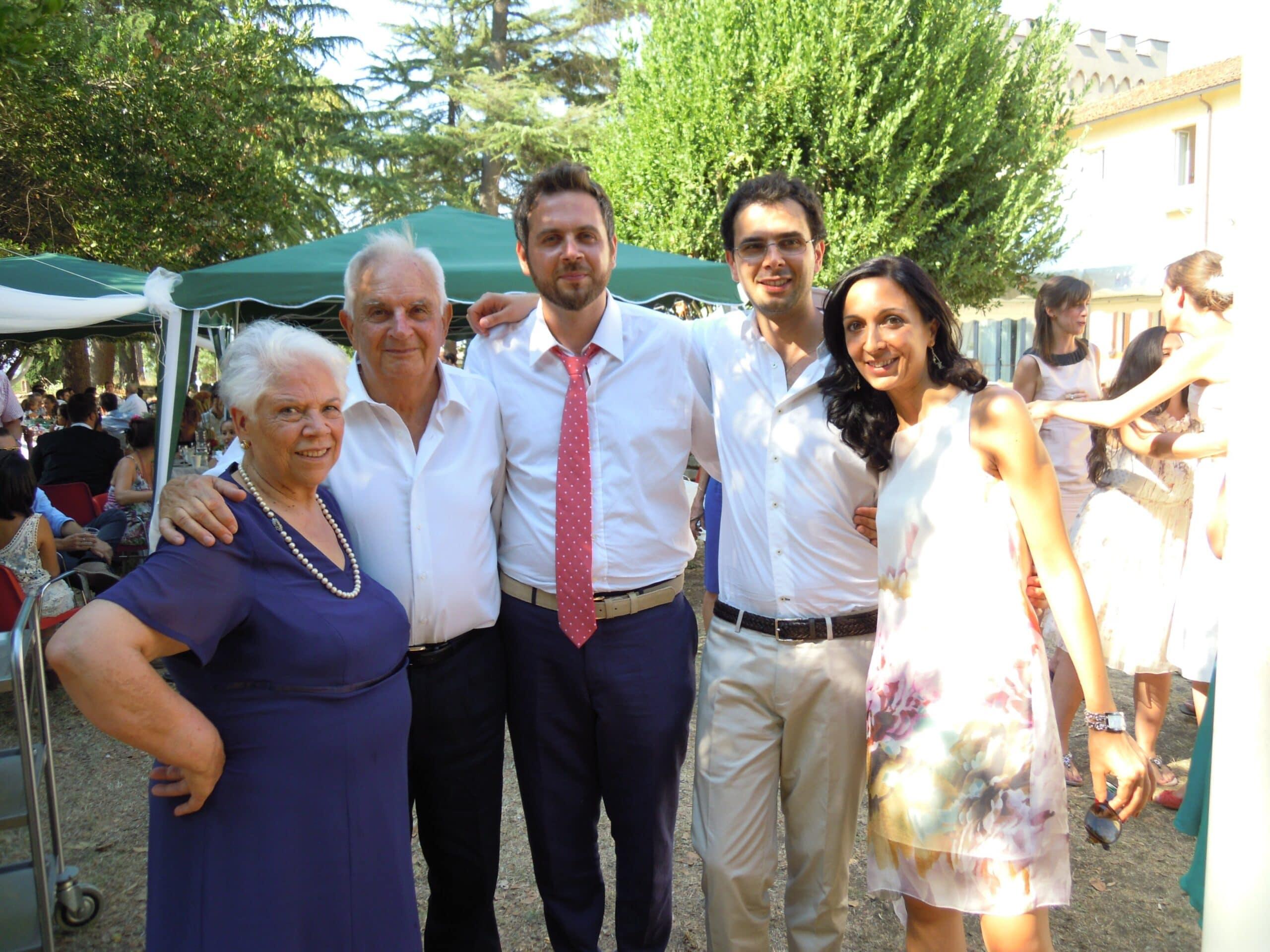 Antonio De Sanctis Famiglia