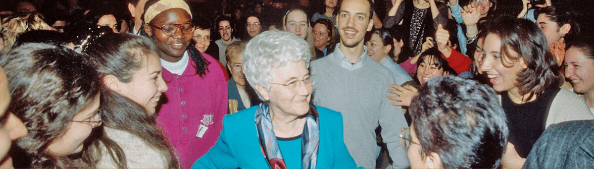 Maria Voce's message for the centenary of Chiara Lubich's birth.