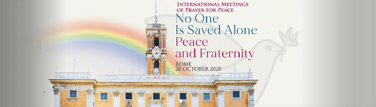 """Rome becomes the """"capital of peace"""""""