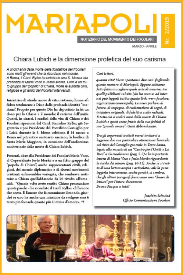 Notiziario Mariapoli 2/2019