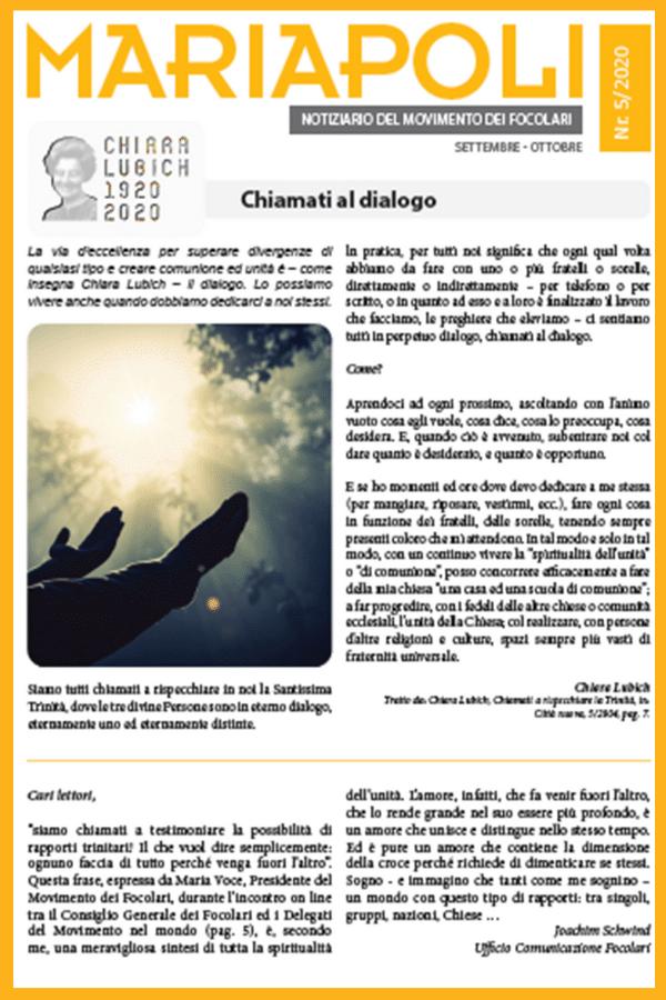 Mariapolis Newsletter 5 - 2020