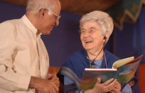 Mumbai: Dr Shantilal Somaiya e Chiara Lubich