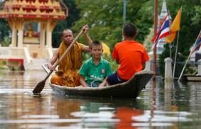 泰國:處於水災之中,仍存有希望