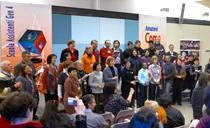 在岡道福堡舉行培育兒童導師的聚會