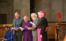 Ireland: Prayer Service at St Anne's Anglican Cathedral,Belfast