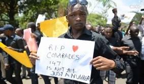 肯尼亞Garissa大學的慘劇後