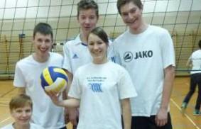 瑞士的青年主辦『排球日』,為埃及的青年籌款