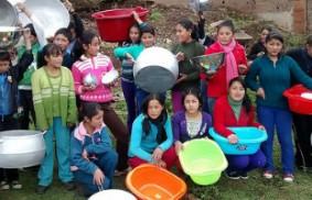 安第斯山脈上的學校