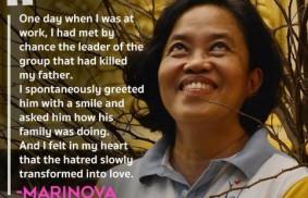 菲律賓國際聖體大會:瑪麗諾娃(Marinova)的經歷