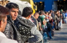 滯留在希臘的難民