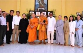 仁光法師訪問越南