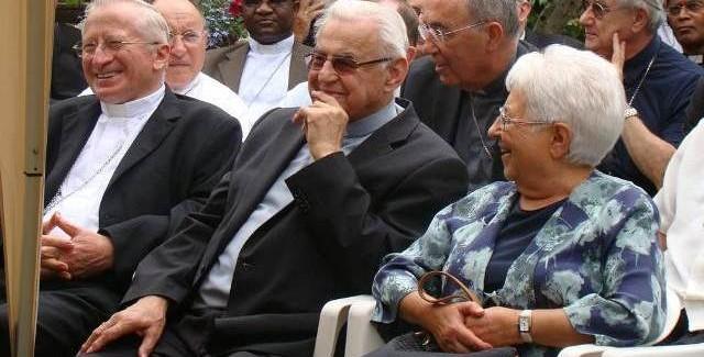 傅瑪利談論米洛斯拉夫·弗爾克樞機(Cardinale Miloslav Vlk)