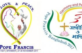 教宗方濟各訪問緬甸和孟加拉