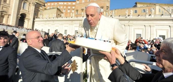 教宗方濟各八十一歲大壽