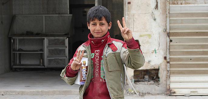 緊急援助敘利亞