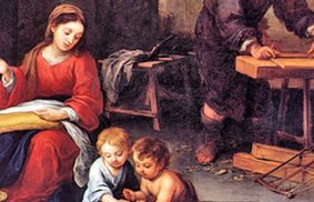 家庭主婦的瑪利亞
