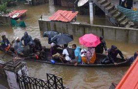 印度喀拉拉邦(Kerala)的災情